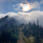 Adventure Log: Foggy Day at Dege Peak