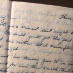 Letters from the War: Anniversaries