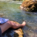 Camping in a Heat Wave on the Skokomish